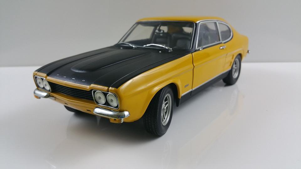 Capri, Auto, Model, Oldtimer, Vehicles, Model Car, Toys