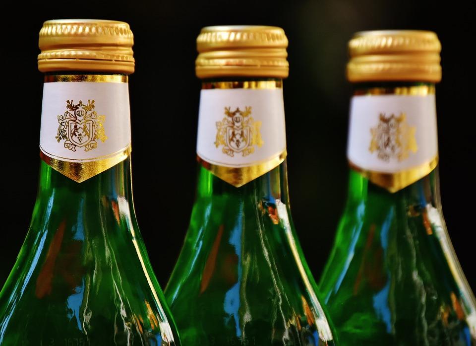 Wines, Bottles, Caps, Bottle Caps, Glass Bottles