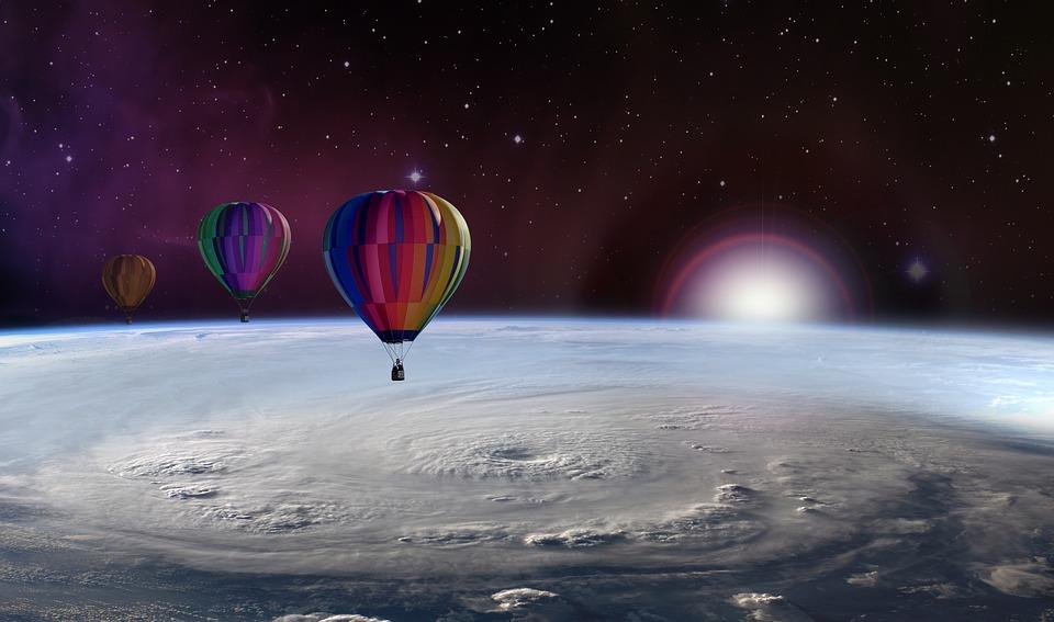 Balloon, Captive Balloon, Balloon Trip, Climate