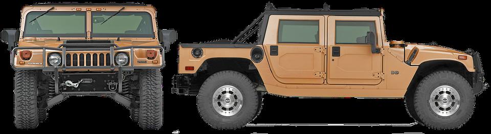 Hammer, Car, Transport, Suv, Jeep, Rover, Pickup, 4x4