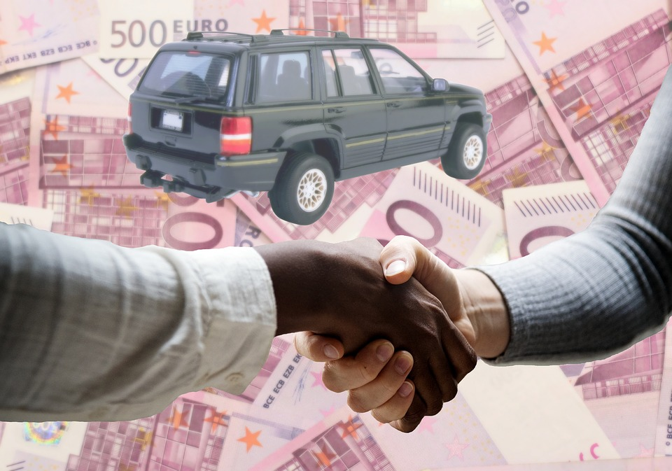 Free Photo Car Agreement Handshake Used Sale Euro Bills Max Pixel