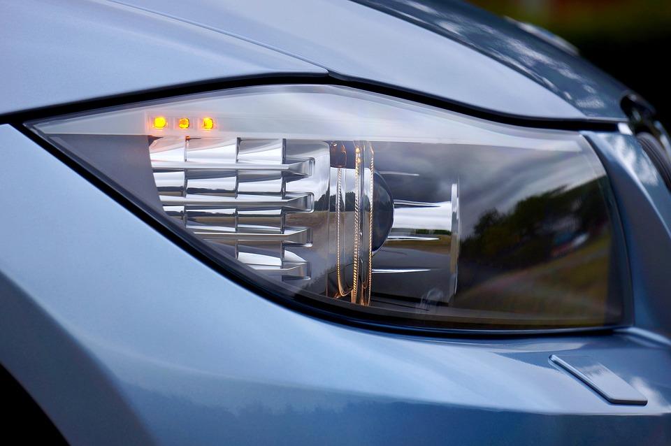 Headlight, Bmw, Auto, Automobile, Car, Transportation