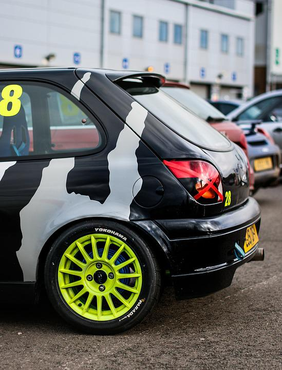 Ford Fiesta, Green, Track Day, Car, Vehicle, Auto