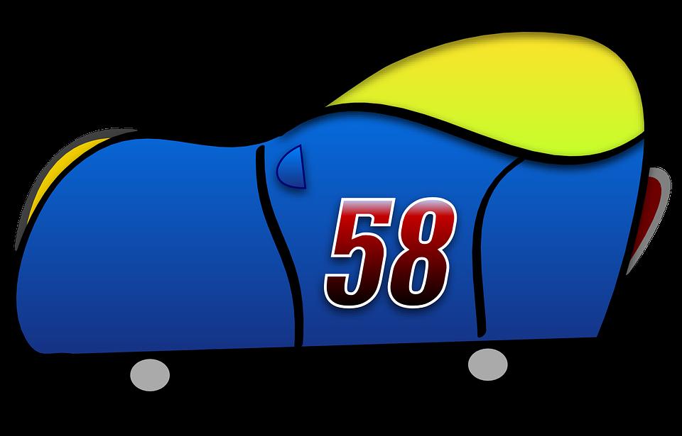 Blue, Car, Funny