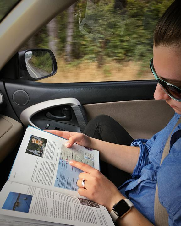 Apple Watch, Blurred Background, Blurry, Book, Car