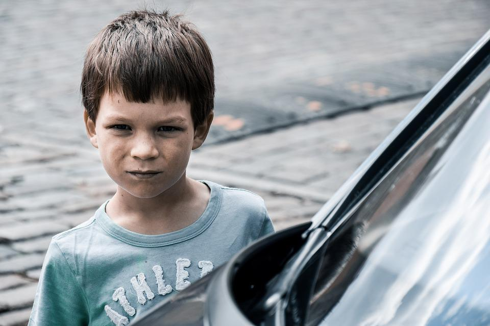 Boy, Kid, Angry, Young, Child, Little, Driver, Car