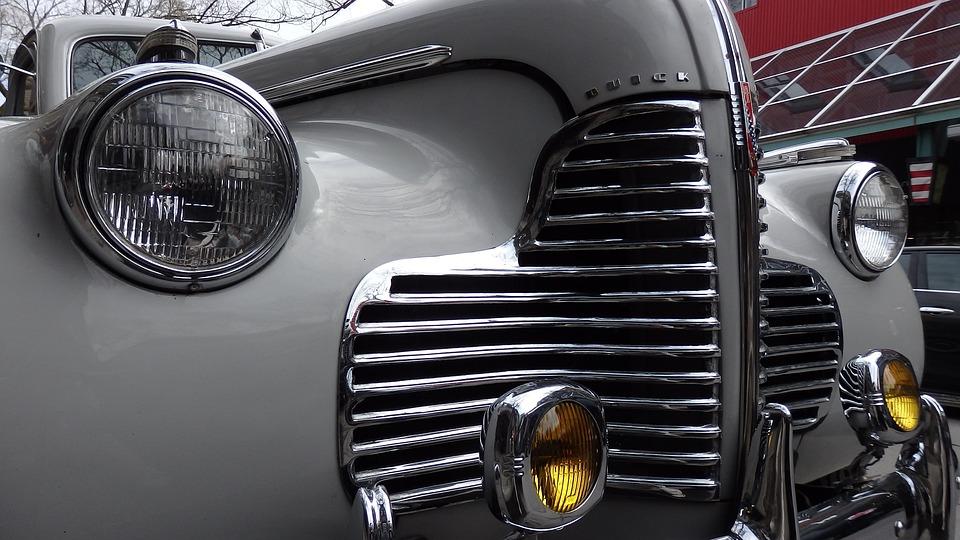 Car, Vintage, 1950s, Classic