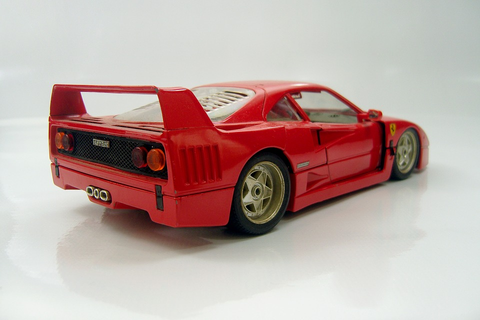 Free photo Car Classic Cars Ferrari Toy Red Fast Rear - Max Pixel
