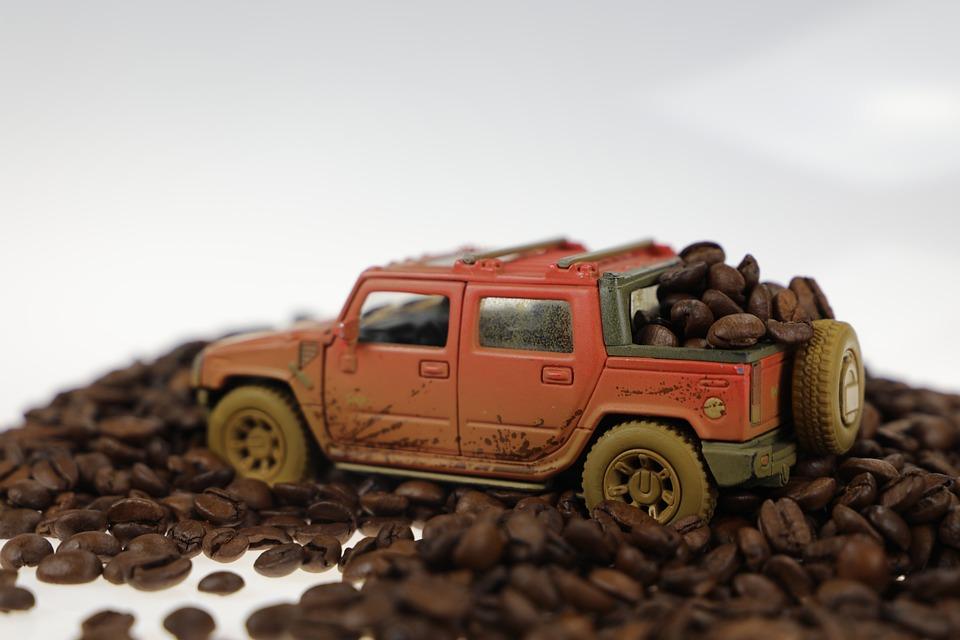 Car, Jeep, Coffee, Wawerska, Pickup, Pick-up