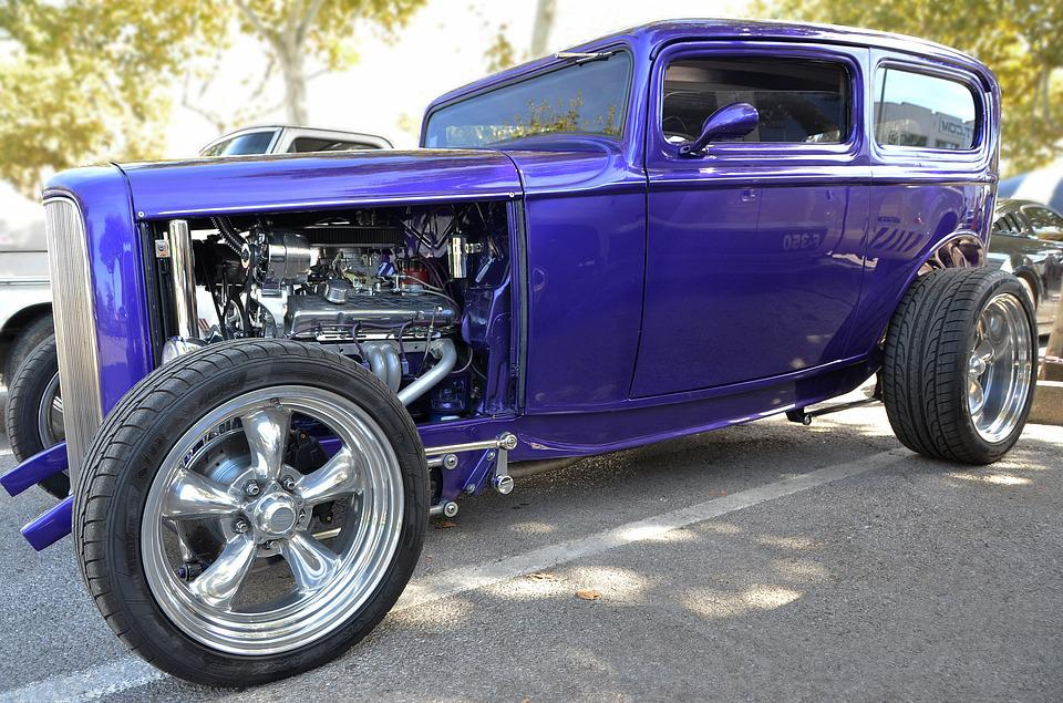 Free photo Car Collection Ford 1932 Old Car Violet Automobile - Max ...