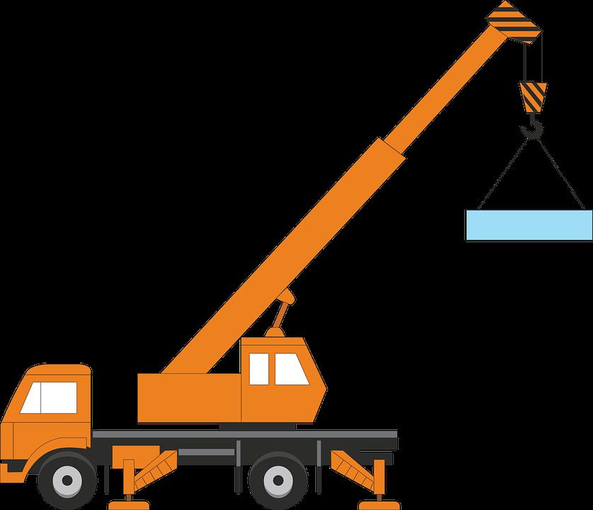 Crane, Transportation, Car, Industry, Construction Site