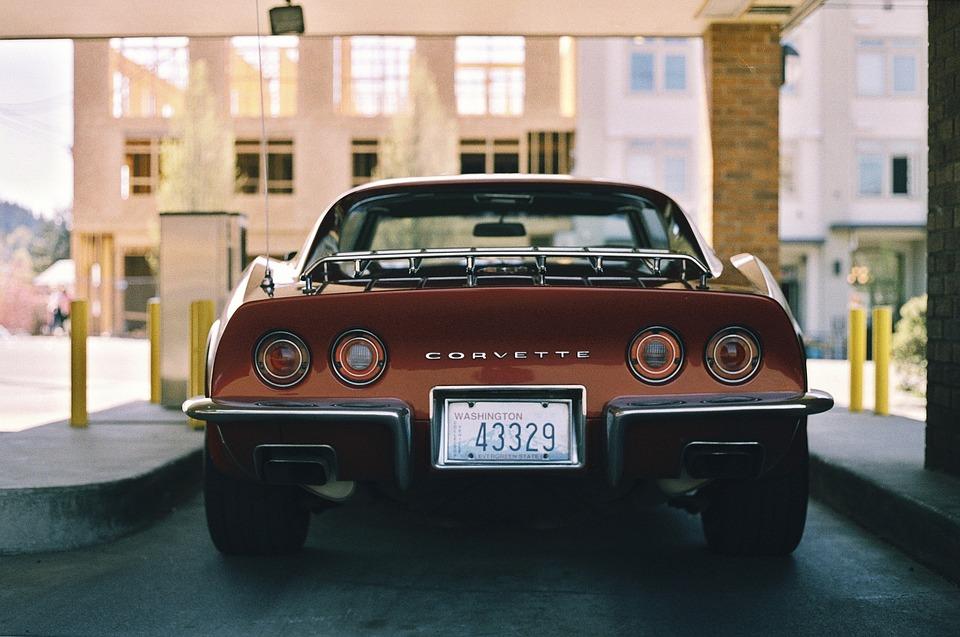 Corvette, Car, Automotive, Vintage, Oldschool