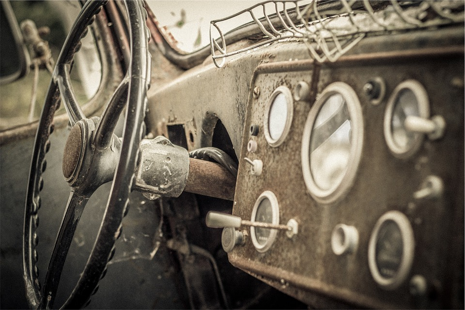 Car, Steering Wheel, Dashboard, Interior, Gauges