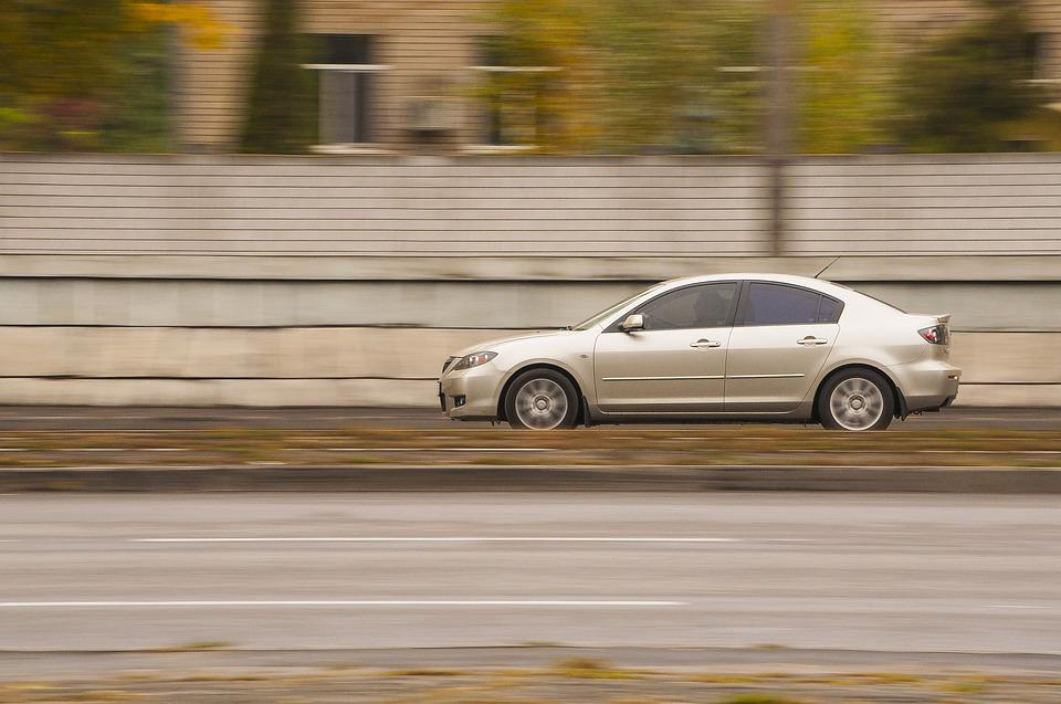Car, Blur, Hurry, Act, Asphalt, Road