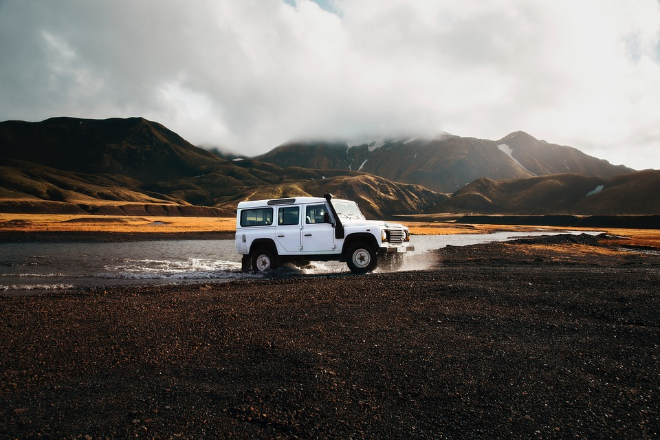 Land Rover, Iceland, Four Wheel Drive, Truck, Car