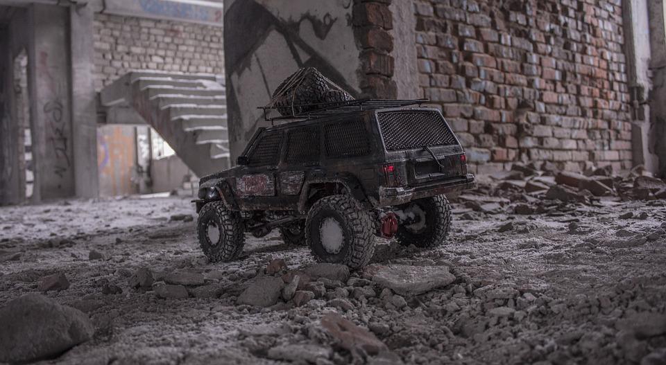 Rc, Jeep Grand Cherokee, Jeep, Car, Rims, Auto