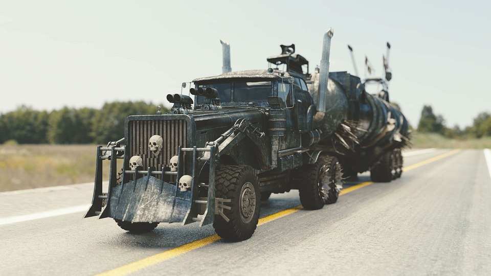 Mad Max Fury, Car, Mad Max, Monster Car, Track