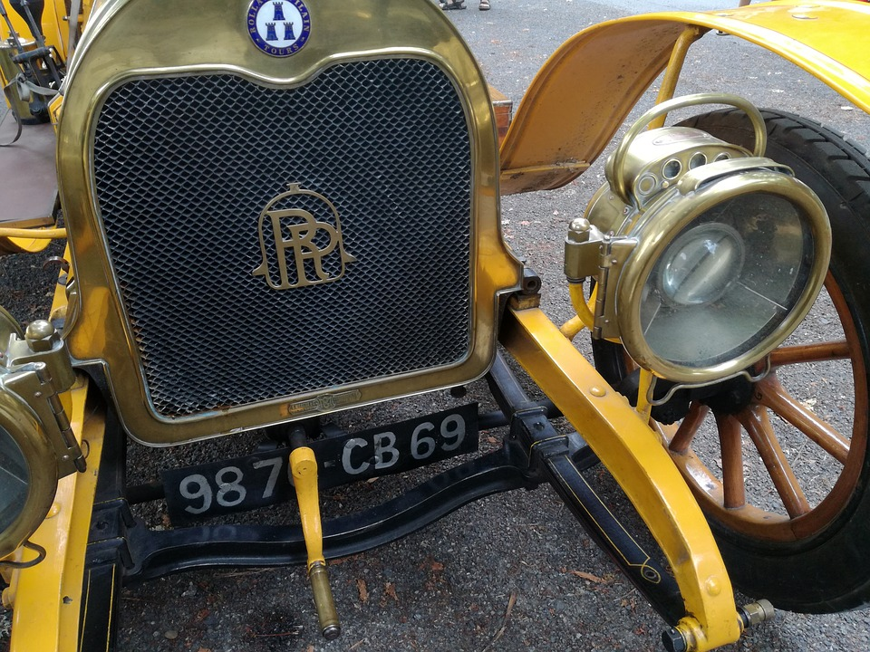 Car, Calender, Old Car, Lighthouse, Rolls Royce