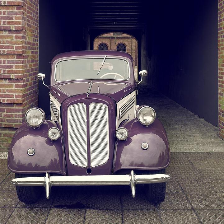 Old Car, Oldsmobile, Retro, Vintage, Vehicle, Car