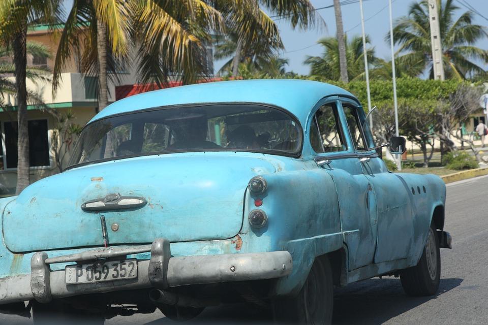 Car, Cuba, Havana, Oldsmobile