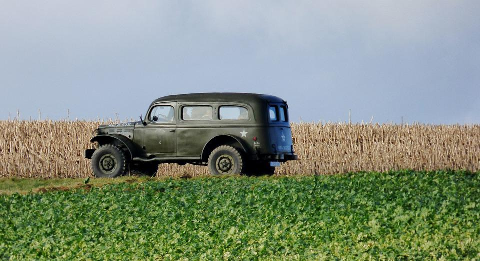 Oldtimer, Car, Military Vehicle, Classic Cars, Old