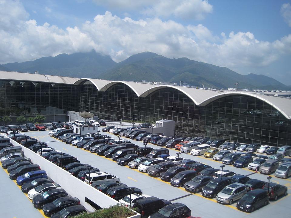 Automotive, Parking Lot, Car, Hong Kong