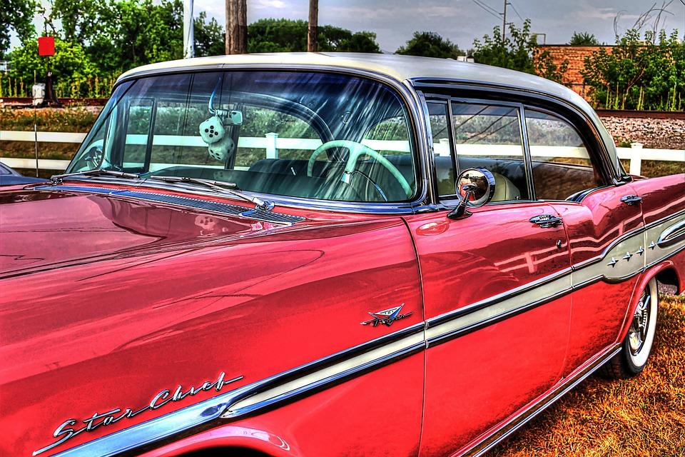 Car, Pontiac, Pink, Pink Pontiac, Automobile, Auto