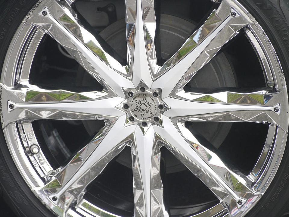 Car, Wheel, Radial, Metal, Silver, Toyota, Automotive