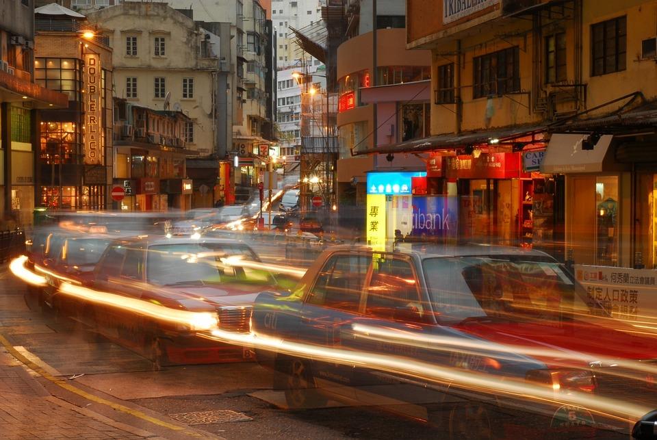 Street, Car, Travel, Transportation, Lighting