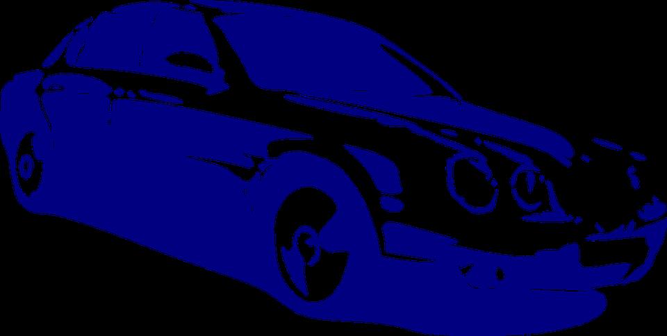 Car, Vehicle, Mercedes, Blue