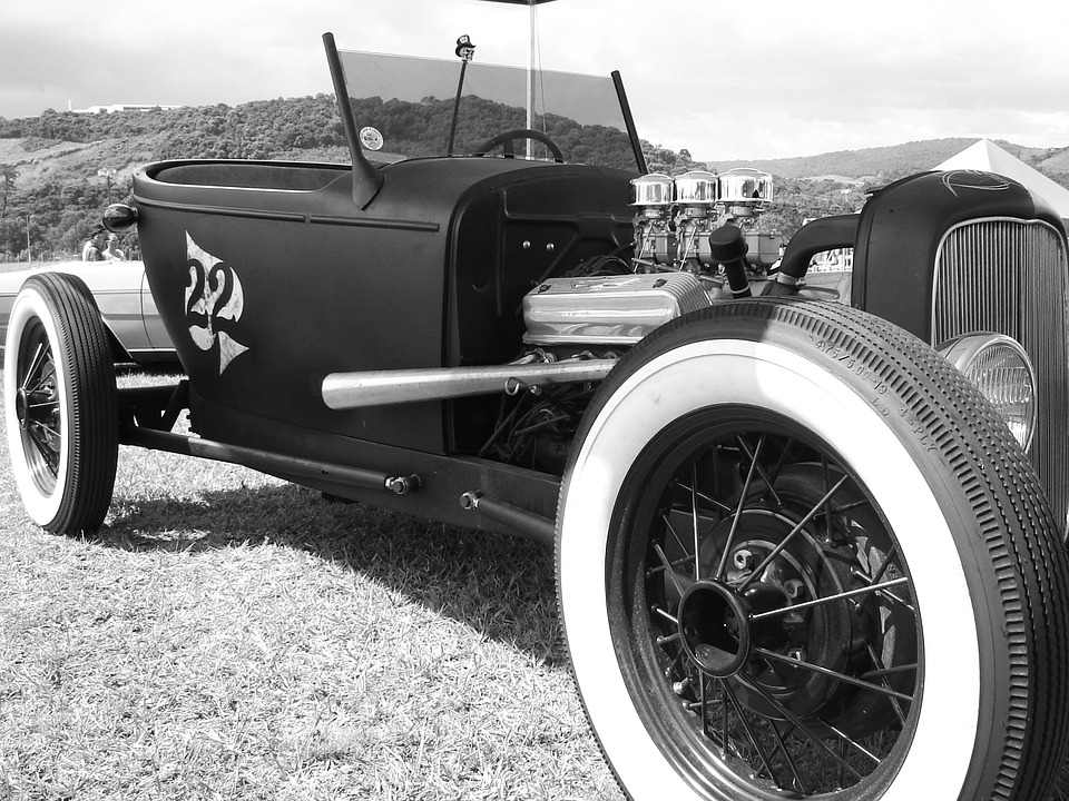 Free photo Car Vintage Black And White Classic Cars Old Cars - Max Pixel