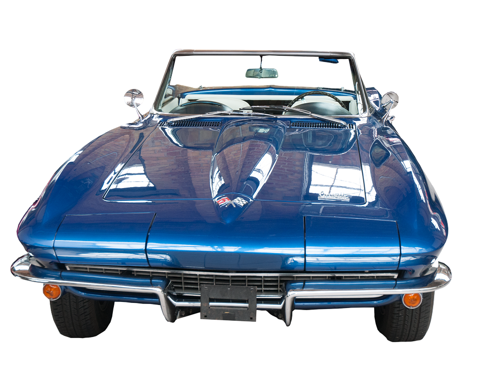 Corvette, Classic, Car, Auto, Vintage, Transportation