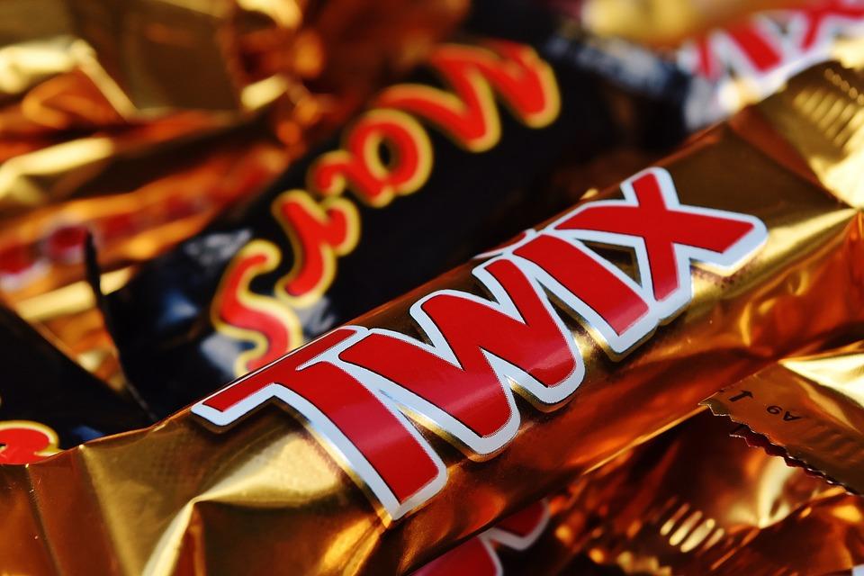 Candy Bar, Sweetness, Chocolate, Mars, Twix, Caramel