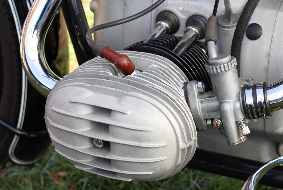 Motorcycle, Engine, Cylinder, Carburettor, Ignition