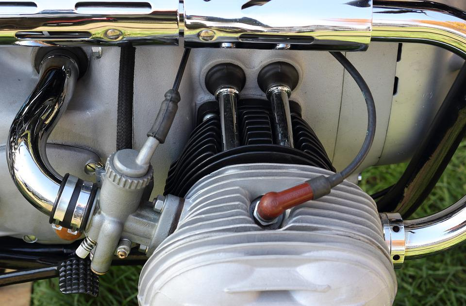 Motorcycle, Engine, Cylinder, Carburettor, Ignition