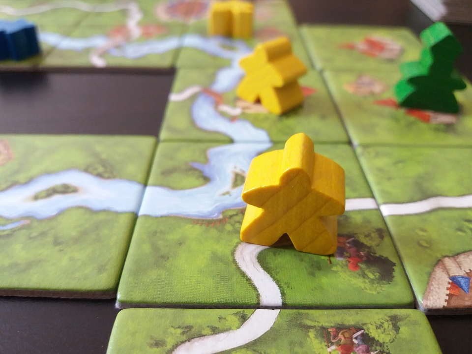 Board Game, Board, Game, Gaming, Leisure, Carcassonne