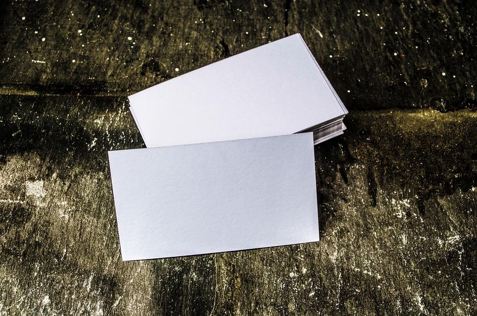 Advertisement, Business, Businessman, Card