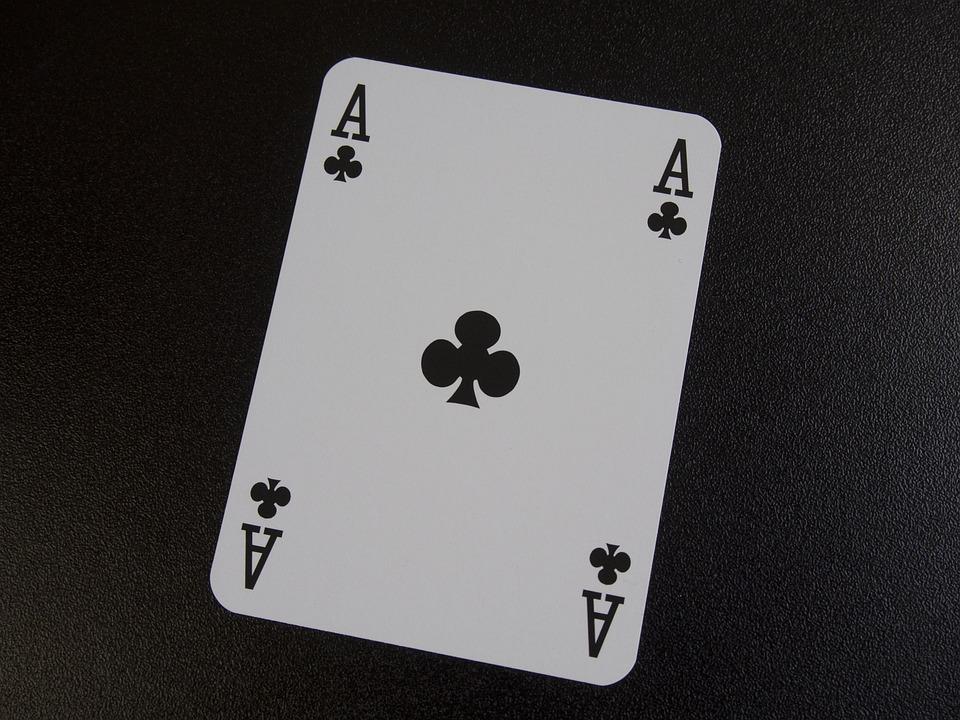 As, Cross, Card Game, Poker, Gambling, Trumpf, Chance