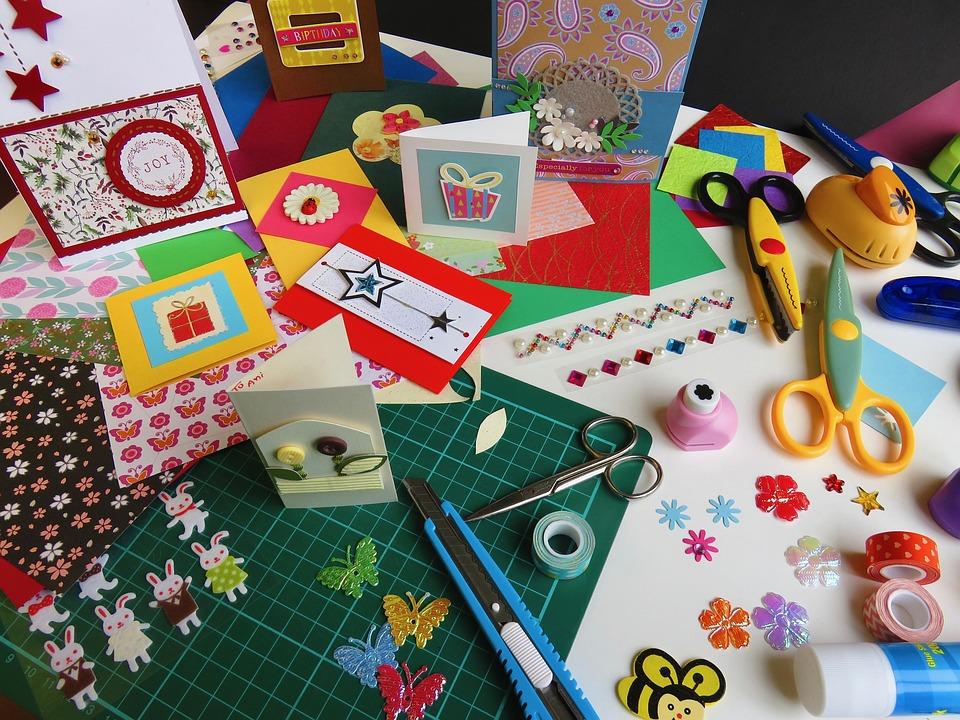 free photo card making handcraft paper craft craft card