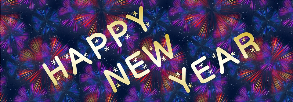 Sign, Poster, Card, Holiday, New Year, Happy, Greeting