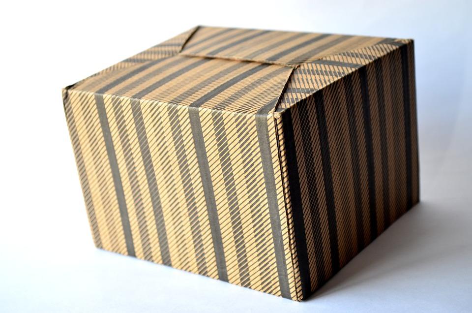 Cardboard Box, Box, Gift, Cardboard, Package, Isolated