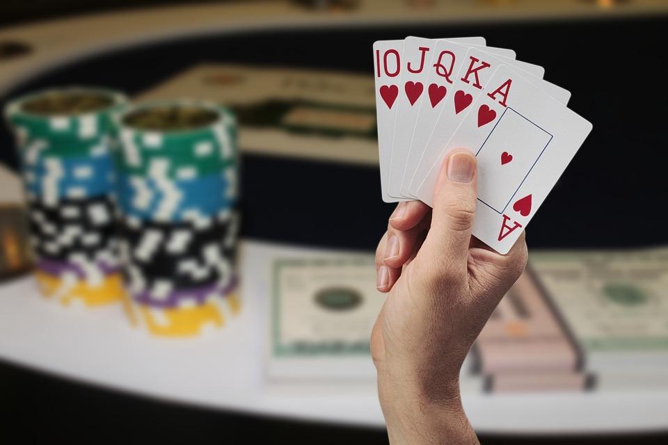Cards, Hand, Poker, Gambling, Straight Flush, Flush