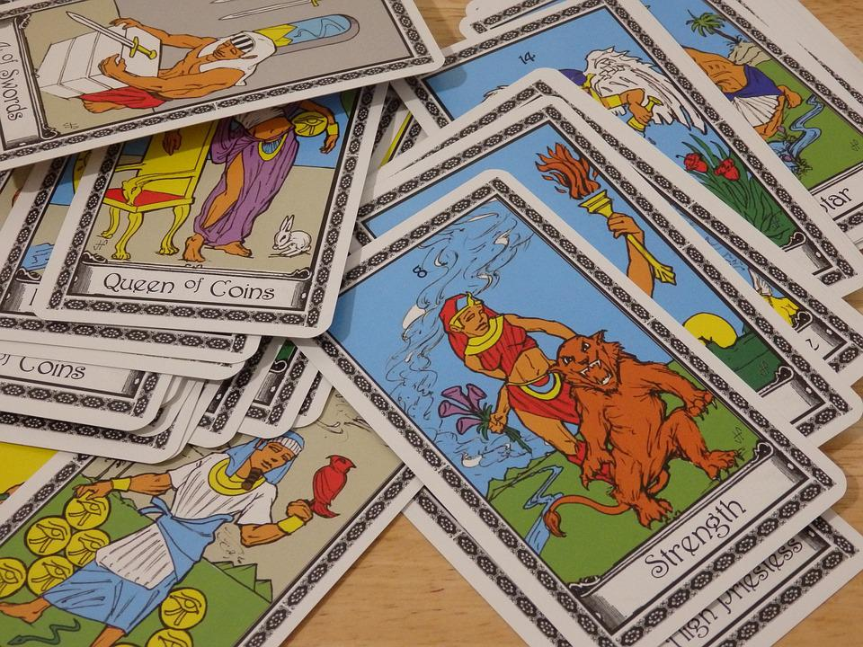 Tarot, Fortune, Cards, Mystic, Divination, Gypsy