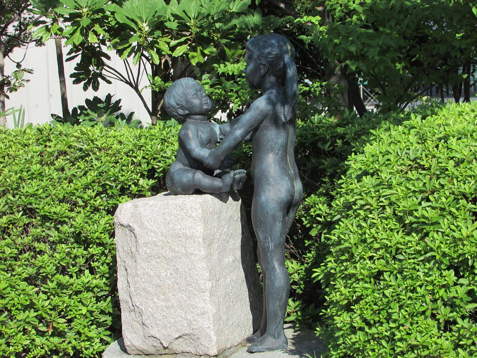 Brothers, Care, Sculpture