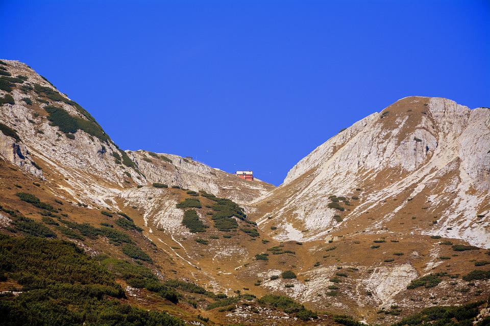 Refuge, Mountain, Fraccaroli, Carega, Italy, Hiking