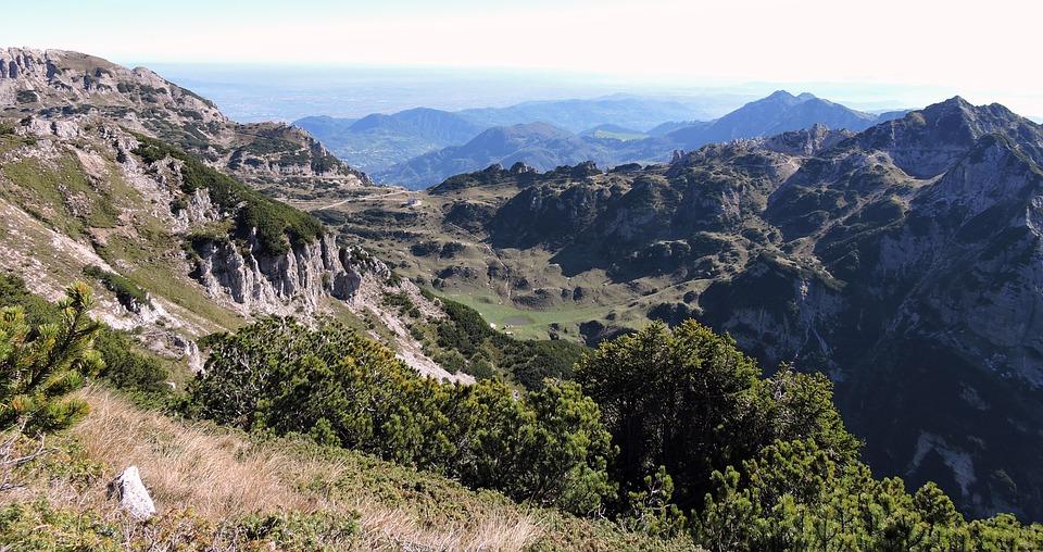 Mountain, Landscape, Hills, Carega, Veneto, Italy