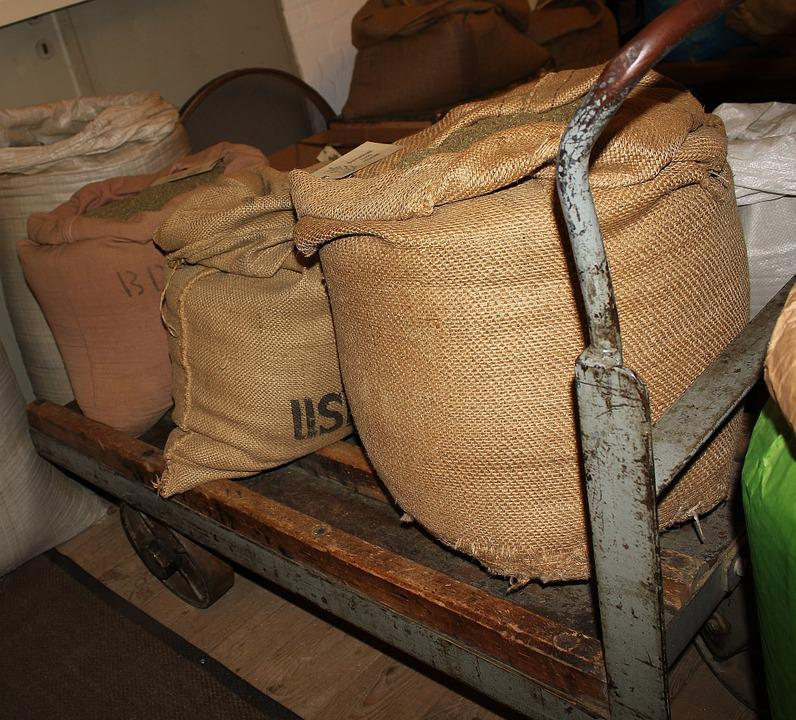 Coffee Bags, Cargo, Delivery