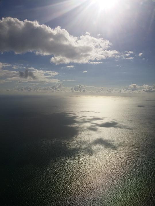 Bahamas, Ocean, Clouds, Sun, Sea, Water, Caribbean