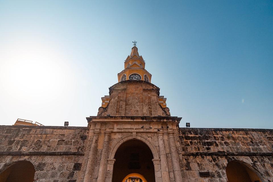 Cartagena, Colombia, Caribbean, City, Spanish