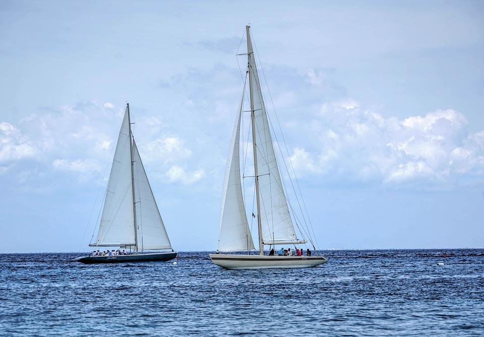 Sail Boats, Caribbean, Boat, Sea, Sail, Water, Ship